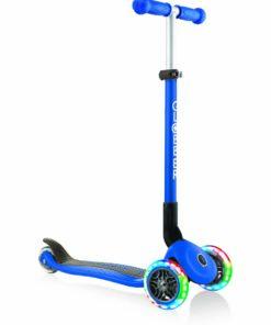 Globber kinderstep drie wielen blauw