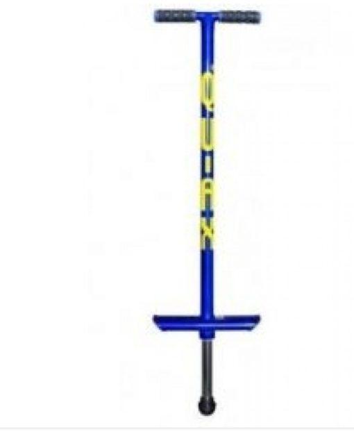 Po-go stick kleur blauw tot 50 kg geschikt