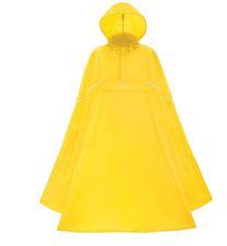 Willex lichtgewicht poncho kleur geel