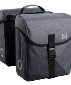 willex-dubbele-systeem-bagagetas-800-28l-zwart